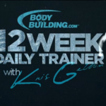 Workout program from Kris Gethin 12 week.